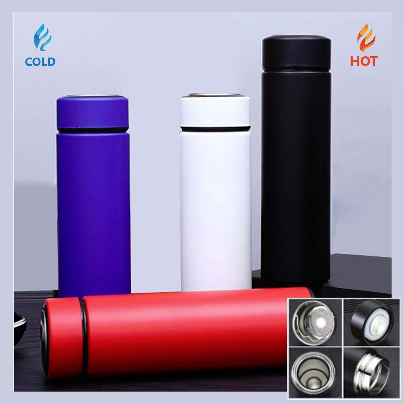 Double Wall Stainless Steel Insulated Vacuum Flask