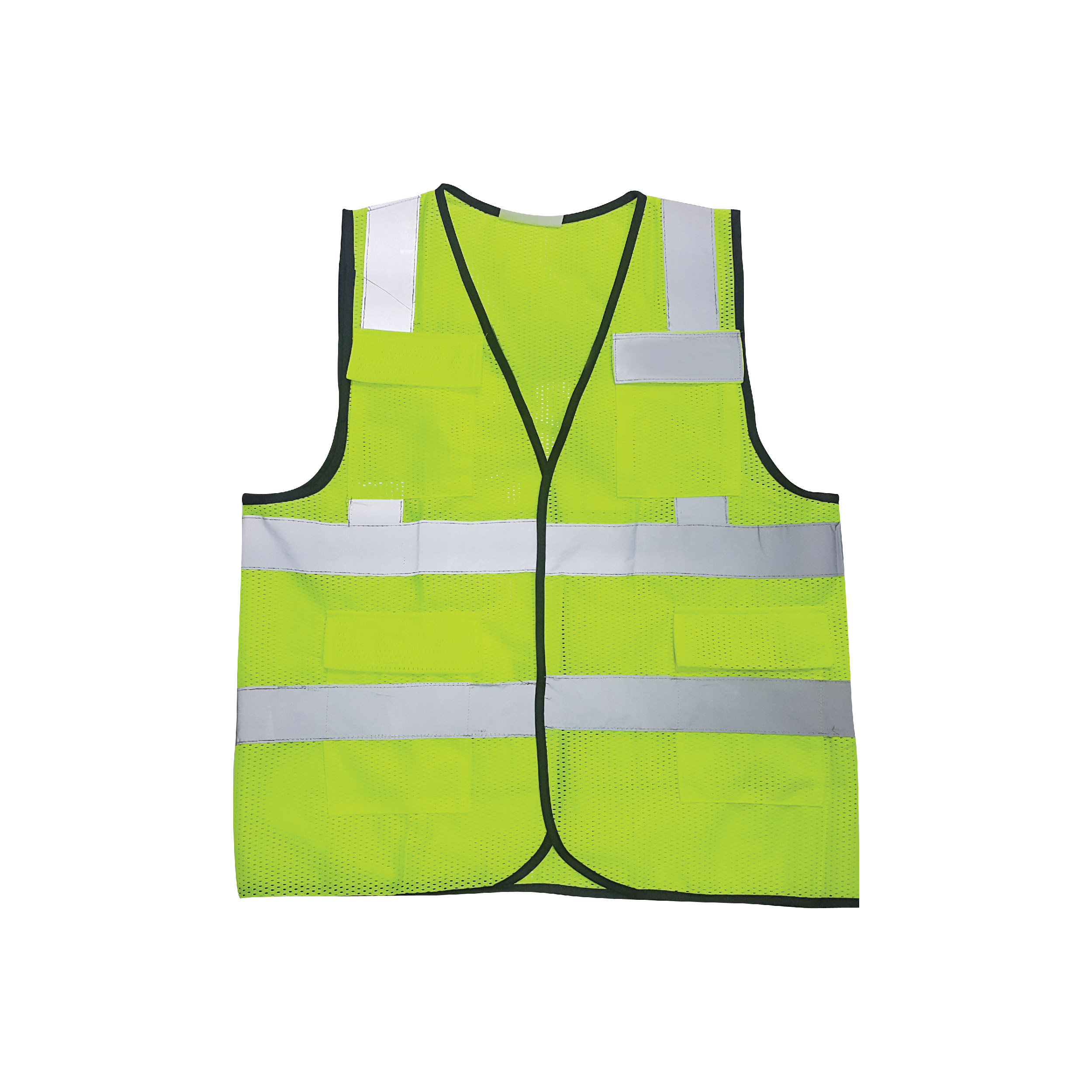 Safety Vest with Reflective Tapes