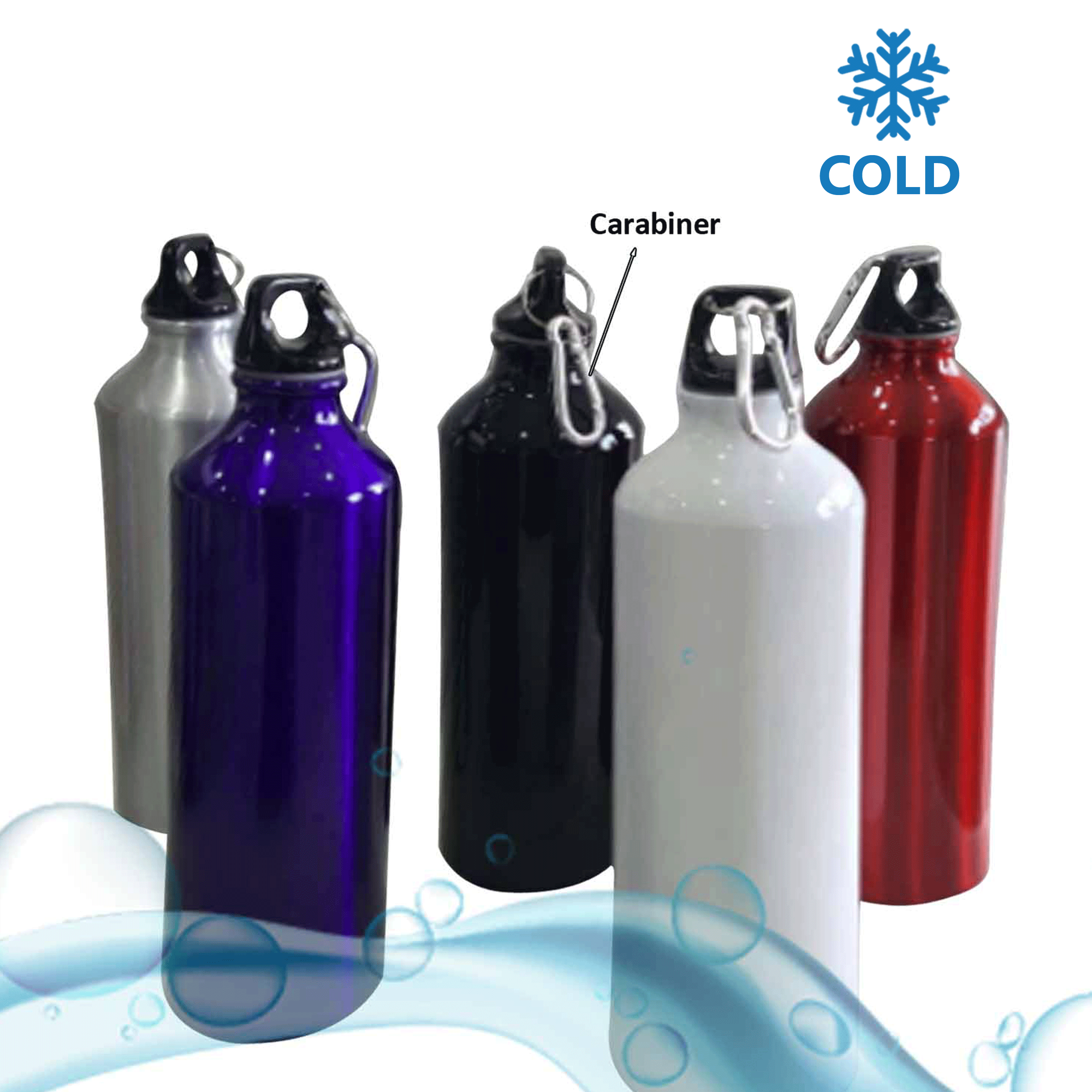 Water Bottle With Carabiner